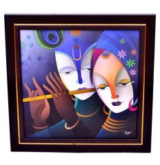 Radha-Krishna Painting From Divine Collection