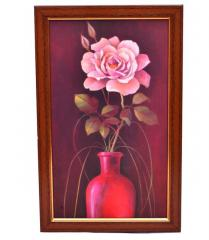 Flower Painting 'Spring Romance' From Fascinating Flora Collection: High Quality HD Print In Classy Textured Frames