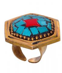 "Vintage Collection Cocktail Ring For Women ""Mystic Star"" (30004)"