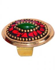 "Intage Collection Cocktail Ring For Women ""Crimson Hues"" (30002)"