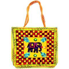 Gujrati Handbags (Elephent)