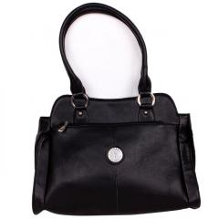 Women's Rich feel, high quality Purse Black