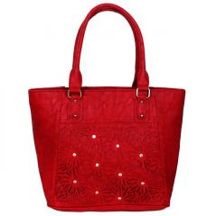 Women's Rich feel, high quality Purse Red (10249)
