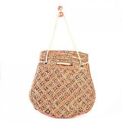 Potli Bag For Women With Intricate Gold Thread & Sequin Embroidery Work (10674)