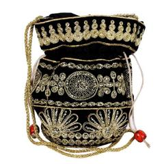 Traditional Silk Potli bag for Women,