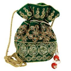 Traditional Silk Potli bag for Women