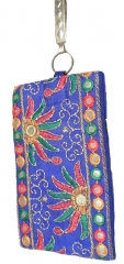 Traditional Women's Mobile Pouch, Purple