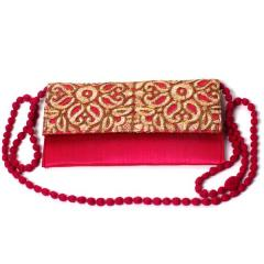 Traditional Indian Women's Clutch