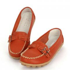 Ladies Leather Loafers