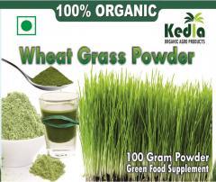 Kedia Organic Wheat Grass Powder-100gm