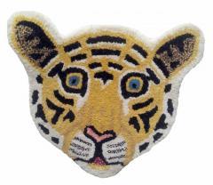 Tiger Face shaped Door Mat (10590)