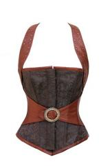 Steampunk Overbust Moxhalter Cors
