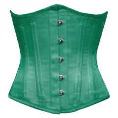 Silvana Underbust Waist Training Green Corset