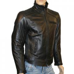 Gents Full Sleeves Leather Jacket