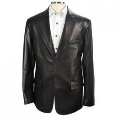 Gents Leather Blazer