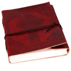 "Leather Diary / Journal / Notebook ""Dancing Dragons"" for Corporate Gift"