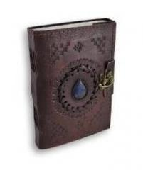 Leather Diary / Journal / Notebook with Handmade Paper for Corporate Gift or Personal Memoir: Ancient Stone (10155)