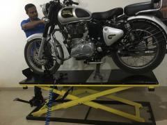 Motorcycle Lift | Bike Ramp |Two Wheeler Ramp | Foot Operated Bike Ramp