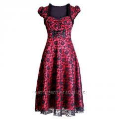 Balbina Gothic Burlesque Dress