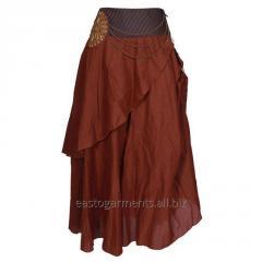 Bushman Coffee Cotton Skirt