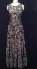 Long Black Women Skirt