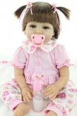 55cm Silicone Reborn Baby Doll Toy like Reborn Babies for Girl