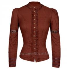 Irene Steampunk Full Sleeve Top
