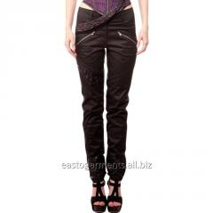Loreto Black Gothic Straight Pants
