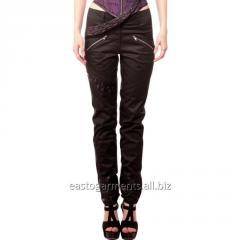 Loreto Black Gothic Straight Pants