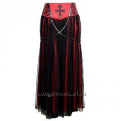 Enola Gothic Punk Long Skirt