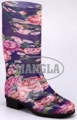 Mercury Purple Flower Boot