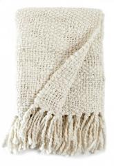 Wool Knit Throw