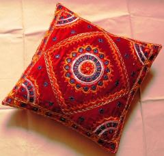 Mirror Patchwork Cushion