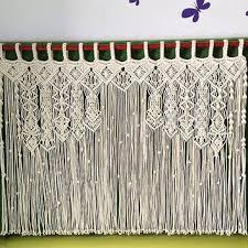 Designer Macrame Curtain