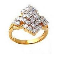 Stone Gold Ladies Ring