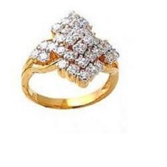 Stone Gold Ladies Ring
