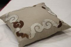 Square  Embroidered Cushion