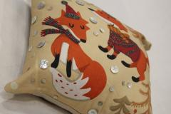 Animal Printed Embroidered Cushion cover
