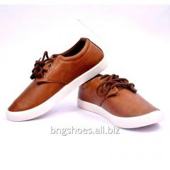 FORMAL TAN CANVAS SHOES