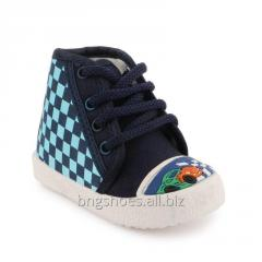 WHITE-BLUE KIDS SHOES