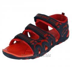 BLACK-RED SANDALS