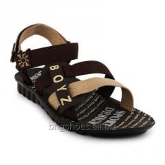 BROWN-CRM SANDALS