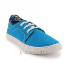 SKY-BLUE WOMEN SHOES