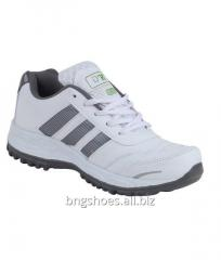 WHITE-GRAY SPORTS SHOES