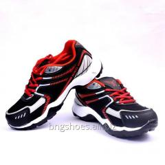 BLACK-RED SPORTS SHOES