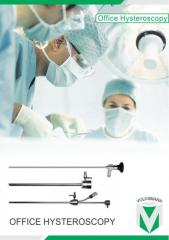 Volksmann Office Hysteroscopy set