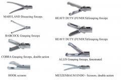 Volksmann Laparoscopic Autoclavable Hand Instruments