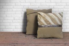 Grey Fancy Cushion