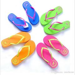 Beach Slippers Casual Rubber Sandals