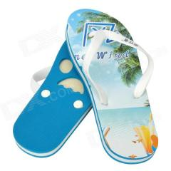 Surfboard with Beach Slippers Set